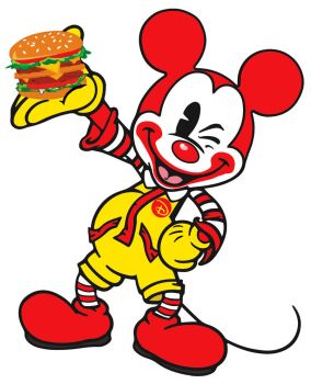 Ronald Mcmickey by EvilRilla