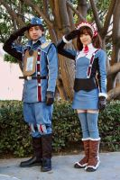 Valkyria Chronicles - Welkin and Alicia by BrianFloresPhoto