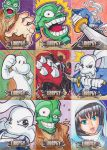 CBLDF liberty sketch card set by JoeOiii