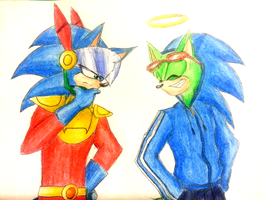 Gift: I'm Sonic the Famous Hero! by black7shadow