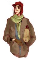 Holden Caulfield by Russalad