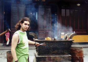 Old me...in China by Icebersky