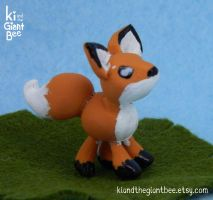 Little Fox Figurine by kicat