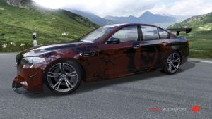 Gears 3 BMW M5 by Crystal-Eclair