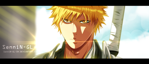 bleach ichigo by SenniN-GL-54