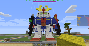 Zeta Gundam ( Minecraft Version) by TobiaArronax