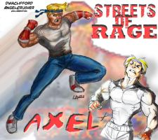 Axel:Streets of Rage by AngelCrusher