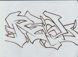 A Real Outline by TheGraeOneOne
