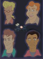 The Real Ghostbusters by UnknownX