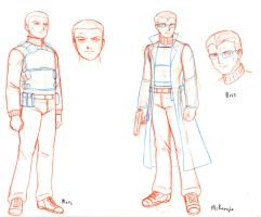 Mercs character design PP short comic preview by Dangerman-1973
