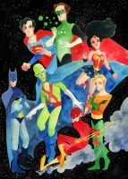 justice league by s-u-w-i