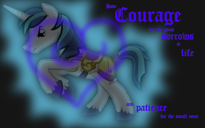 Shining Armor WP by highray