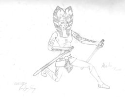 Ahsoka TAno by Ragesteam