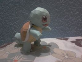 squirtle papercraft by javierini