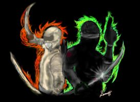Snake Eyes and Storm Shadow by Black-Velvet-89