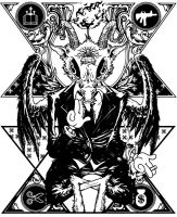 Baphomet by unicyclebabyguy