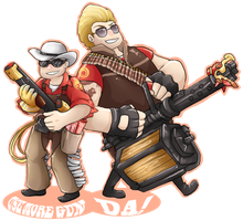 Engie and Heavy by MMtheMayo