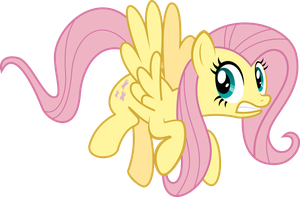 FlutterShy Cringe by RelaxingOnTheMoon