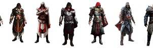 Ezio Evolution by OrochimaruXDD