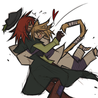 Request 5 - Mallory and Split by ClefdeSoll