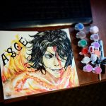 One Piece Ace Fanart by 0din-Cosplayer