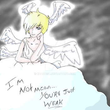 Lucemon ain't mean... by RpArtist