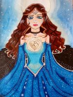 Queen of the night by Naefa