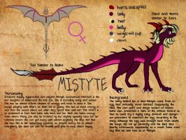 Mistyte Reference by SoulDragonWithFlow