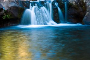 Waihi Waterfalls by HaruNiji