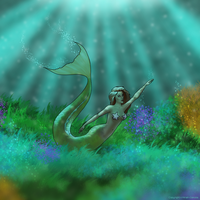 Mermaid by Miriah-Dakota