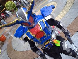 kamen rider Hyper Gatack SIC 2 by maddaluther