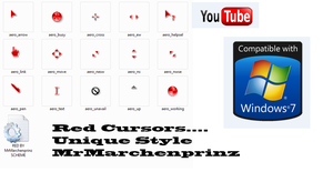 RED CURSORS MRMARCHEN STYLE by MrMarchenprinz