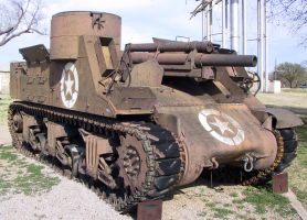 Fort Sill Tanks 2 by Falln-Stock