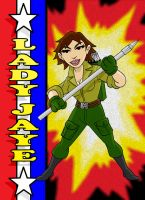 Lady Jaye Herotoons by AlanSchell