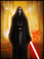 Anakin Skywalker/ Darth Vader - Fan Art by Schmodel