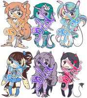Adoptable's Batch 02 (CLOSE) by Toast-Adopts