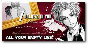 Usui - I believe in you. by littleprincetaeyang
