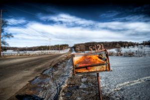 Rusty Mailbox by nickhanson