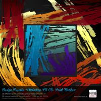 28 PS CS+ Paint Stroke Brushes by Hexe78