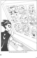 Teen Titans coloring book p.5 by Rustytoons