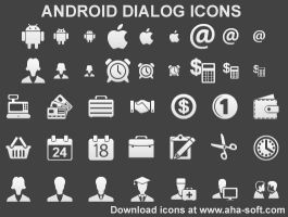 Android Dialog Icons by Ikont