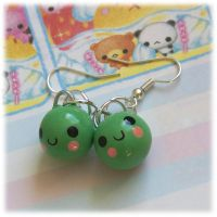 Pea Earrings by Keito-San