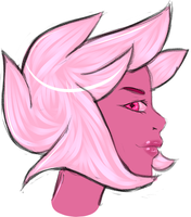 Pink Diamond by RoulettaKitten