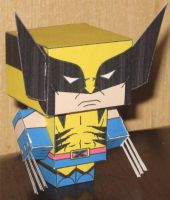 Classic Wolverine Cubee by paperart