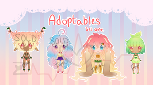 Adoptables: Set One by ZombieInsanity