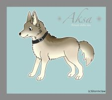 Aksa (New character) by Clawwish