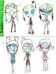irken zombies and yeti adopts by anonymousinvader24