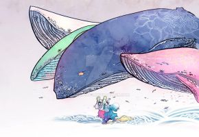 whales for prints by kyan-dog