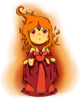 Flame Princess by CaptainCurryCat