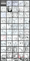 All Them Faces - Traditional by MLeth
